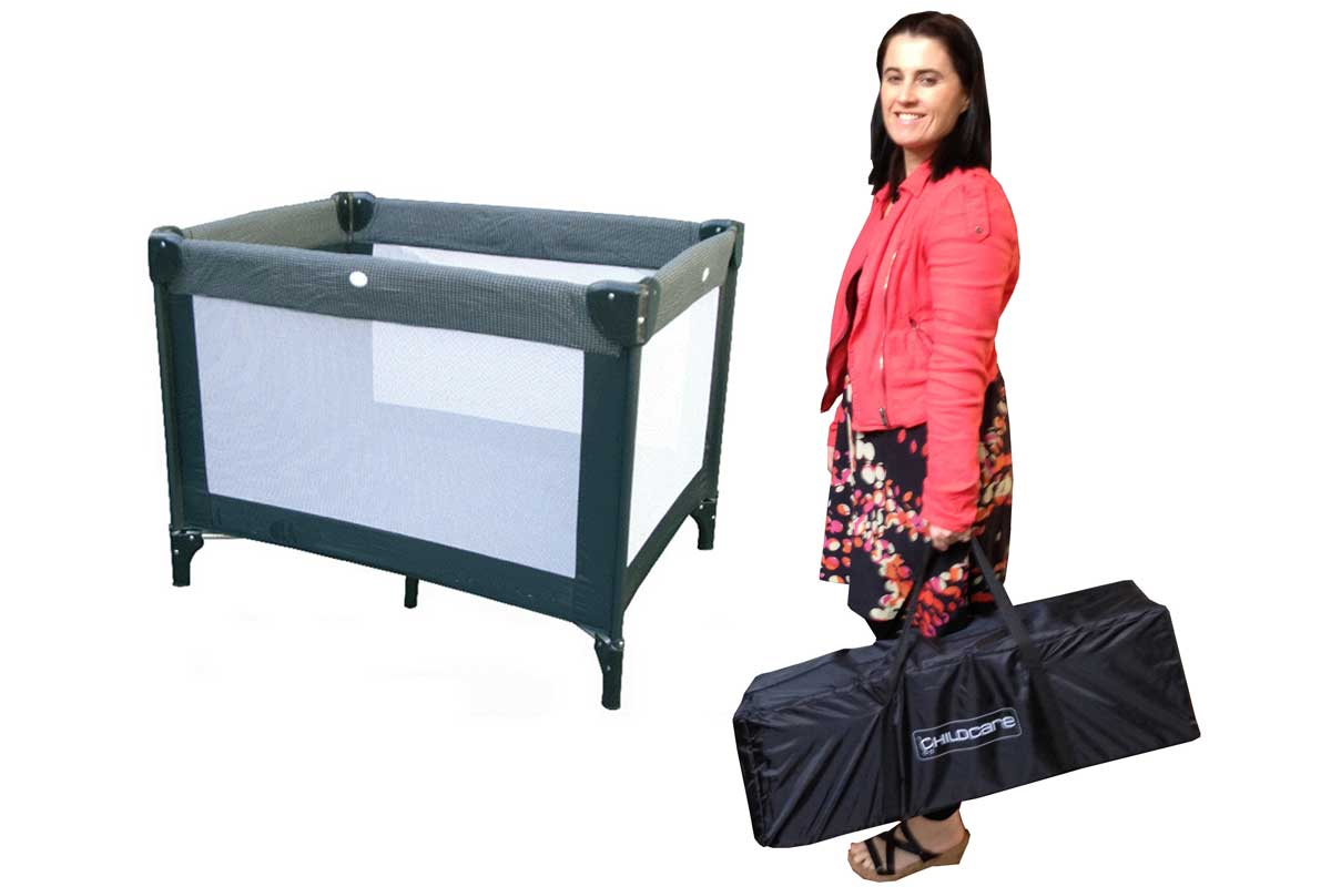 Foldaway Cot for Holidays