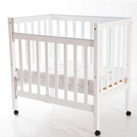 Trent-Small-Cot-White
